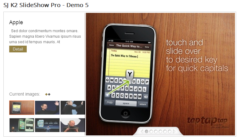 SJ Slideshow Pro for K2 - Joomla! Module - 5Demo5.png