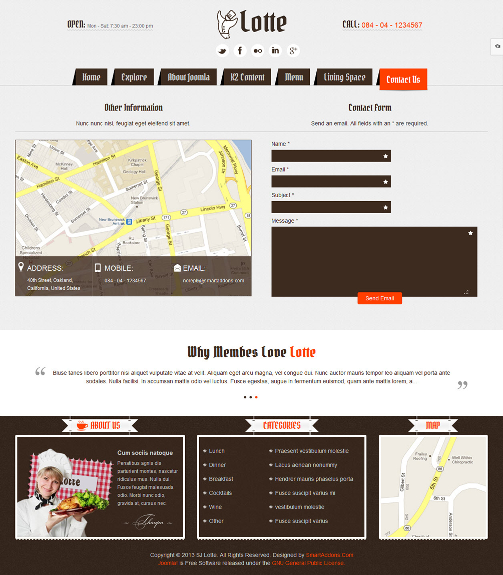 SJ Lotte - Responsive Joomla restaurant, hotel or tourism Template - 6-contact-us.jpg
