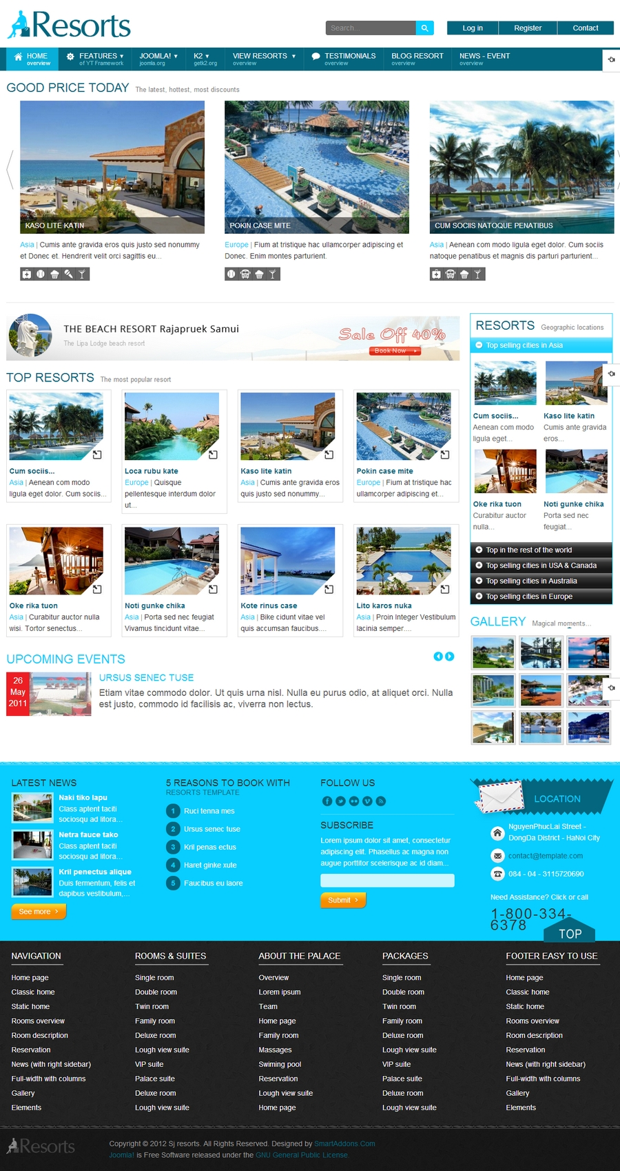 SJ Resorts - Responsive Joomla Resorts & spa Template - 01index.jpg
