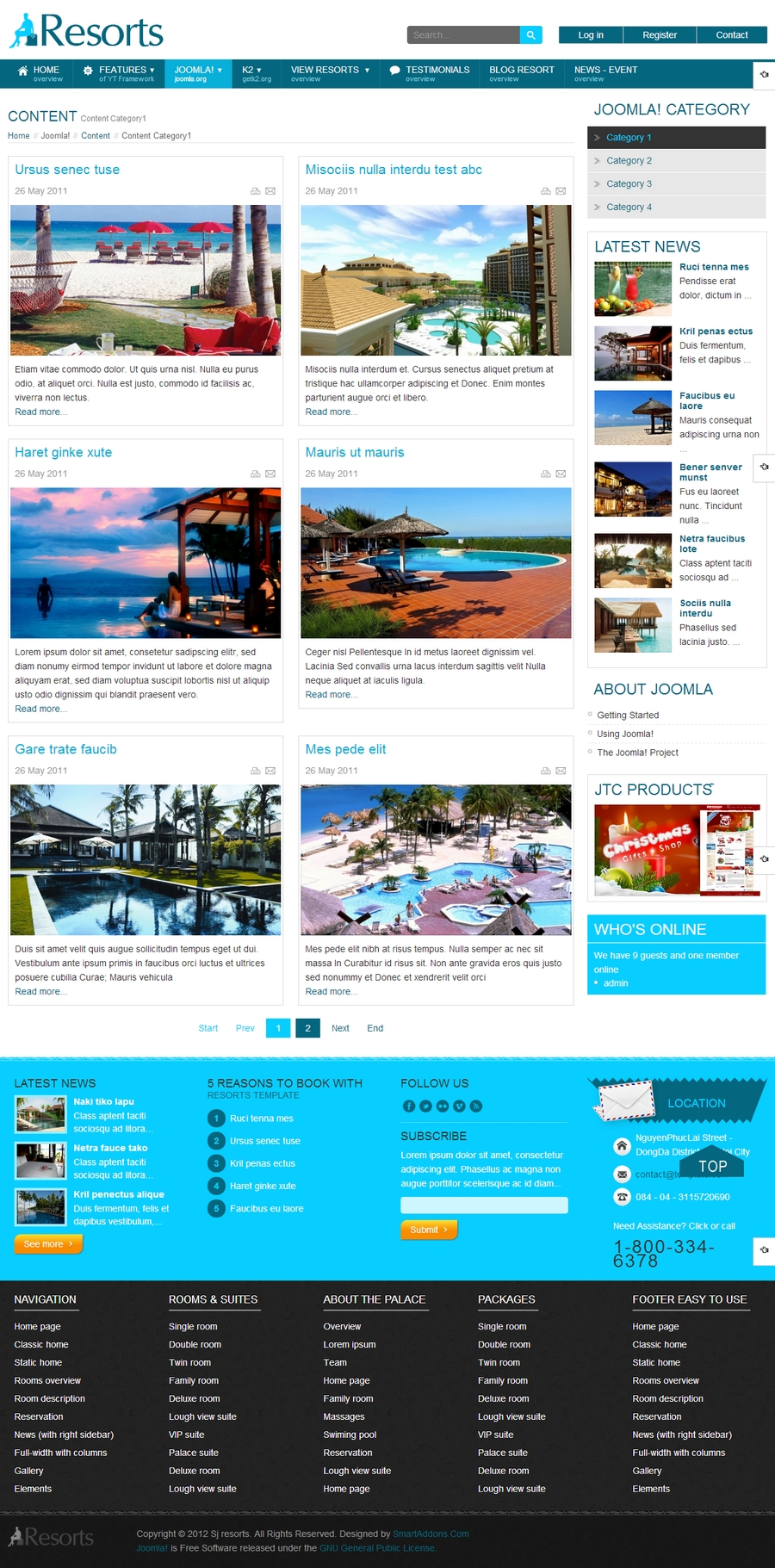 SJ Resorts - Responsive Joomla Resorts & spa Template - 02blog.jpg