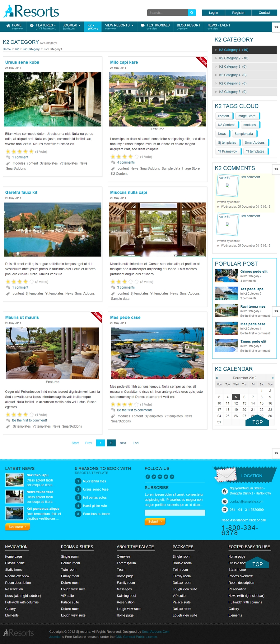 SJ Resorts - Responsive Joomla Resorts & spa Template - 04k2list.jpg