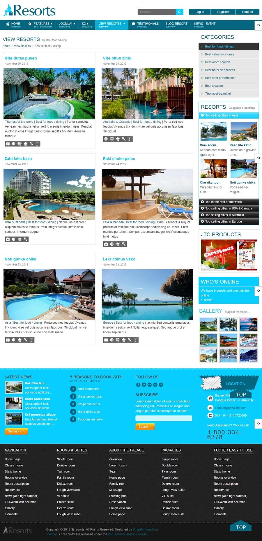 SJ Resorts - Responsive Joomla Resorts & spa Template - 06sobicat.jpg