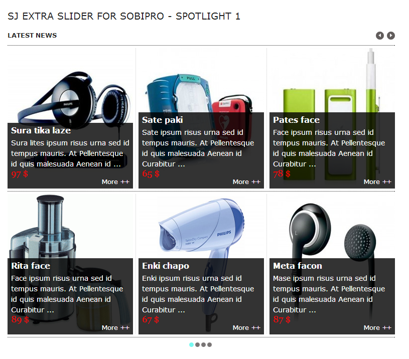 SJ Extra Slider for SobiPro - Joomla! Module - 03spot1.png