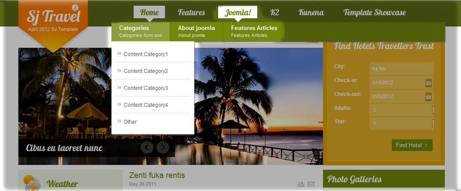 SJ Travel II - Responsive Joomla Travel II Template - 93DroplineMenu.jpg