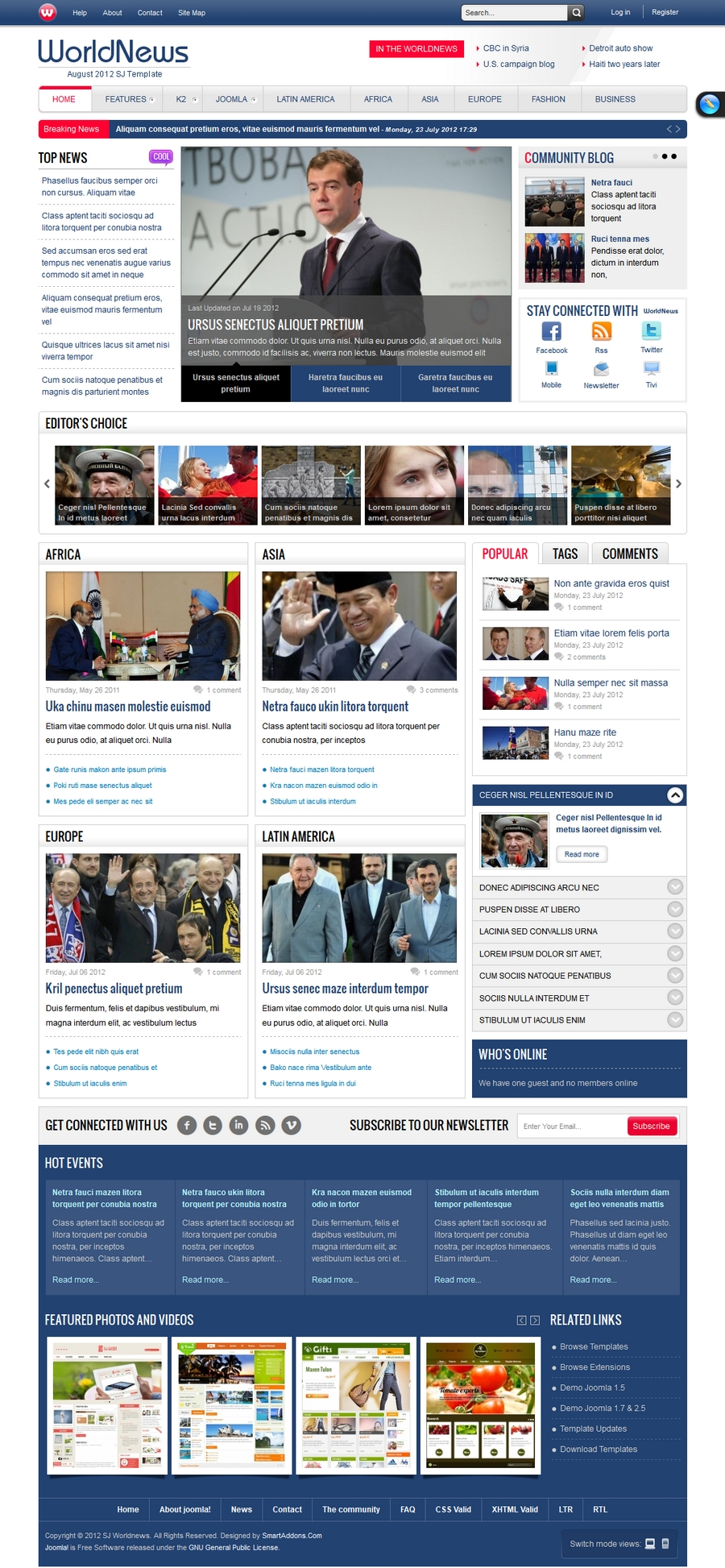 SJ WorldNews - Joomla Template for News magazine - 1index.jpg
