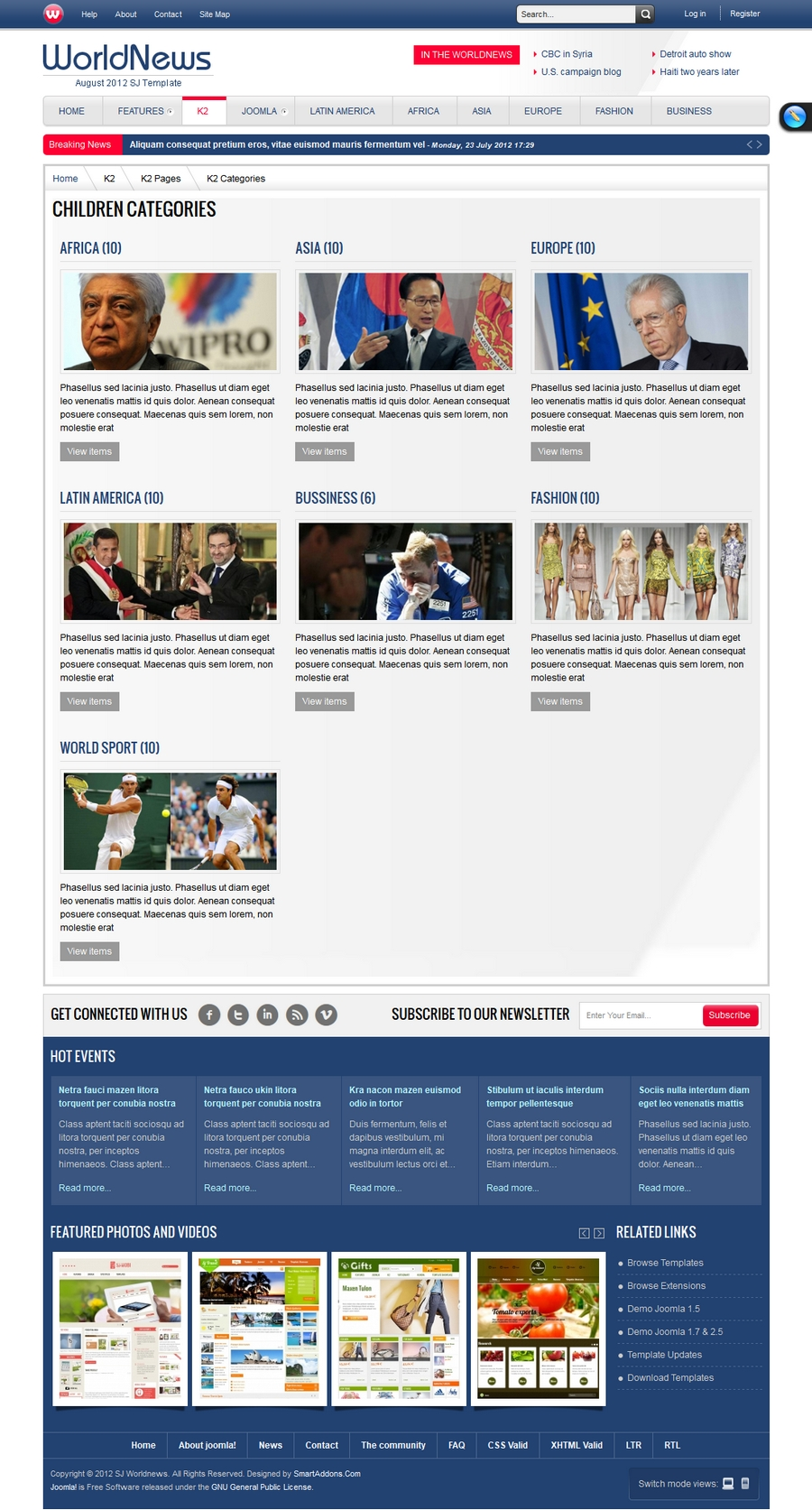 SJ WorldNews - Joomla Template for News magazine - 3listing.jpg