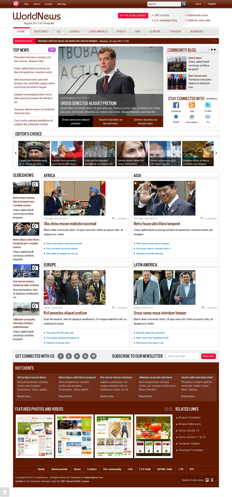 SJ WorldNews - Joomla Template for News magazine - 91brown.jpg