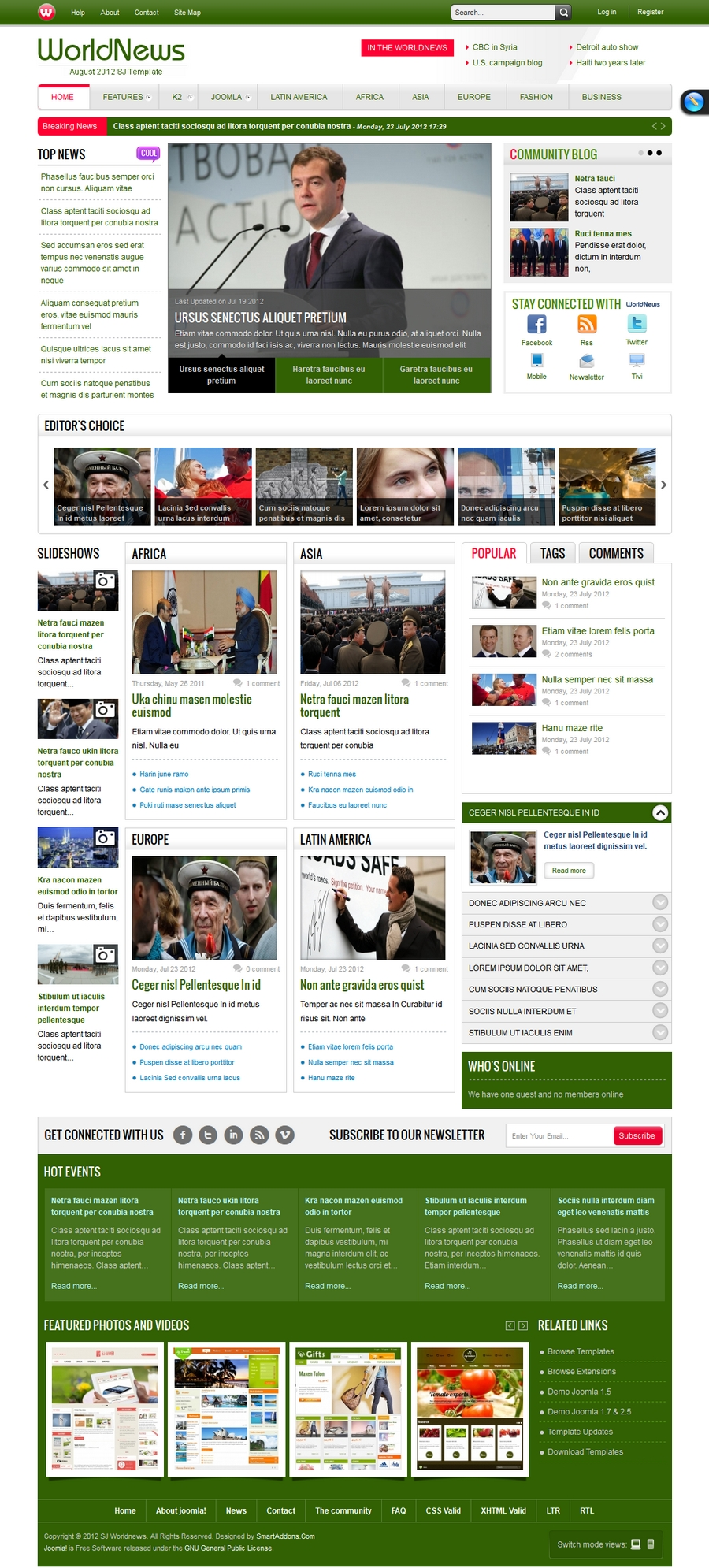 SJ WorldNews - Joomla Template for News magazine - 91green.jpg