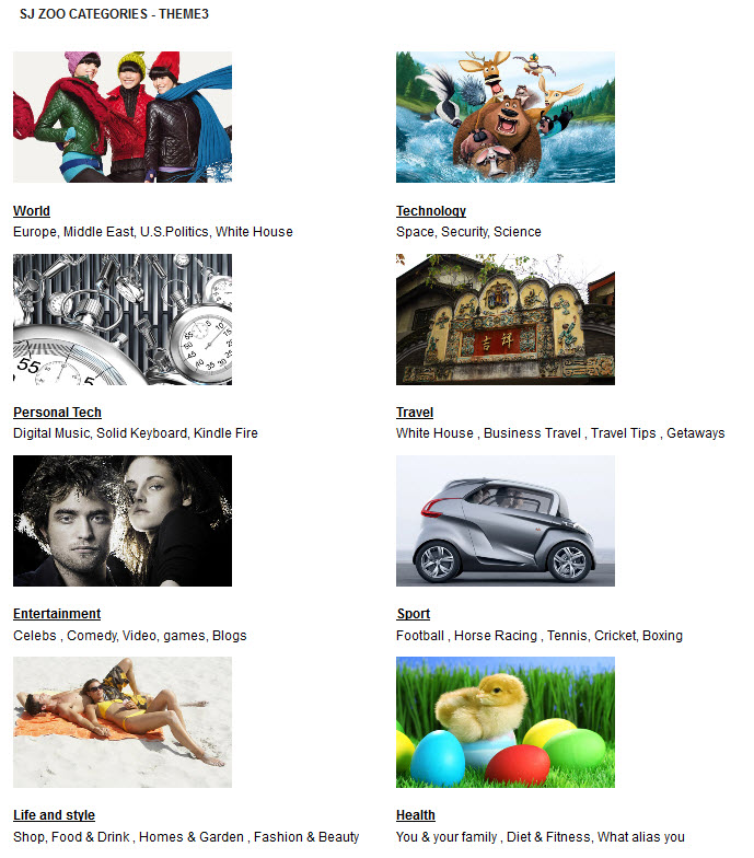 SJ Zoo Categories - Joomla! Module - theme3.jpg