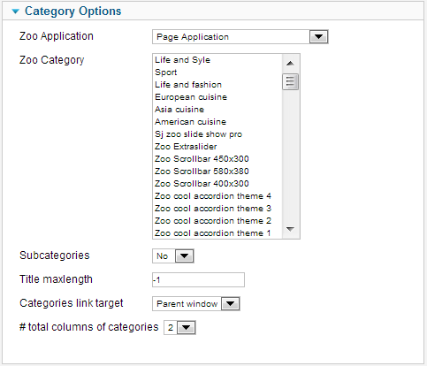 SJ Mega Items for Zoo - Joomla! Module - 02category.png