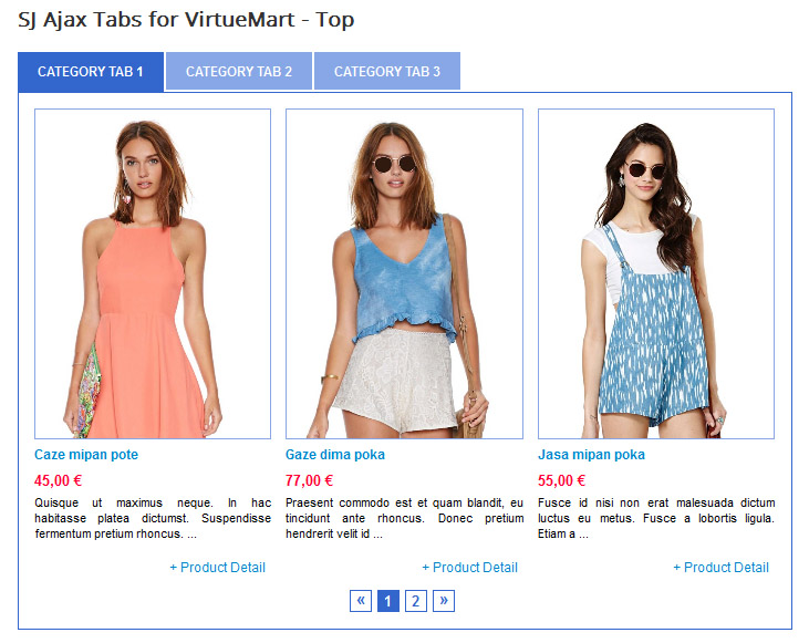 SJ Ajax Tabs for VirtueMart - Joomla! Module - 1.jpg