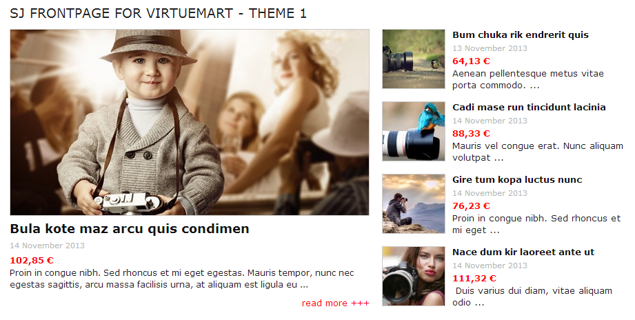 SJ Frontpage for Virtuemart - Joomla! Module - 1theme1.png