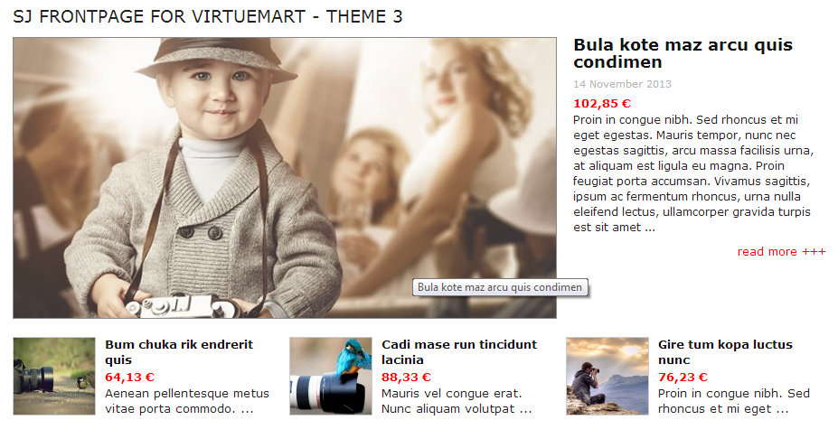 SJ Frontpage for Virtuemart - Joomla! Module - 3theme3.png