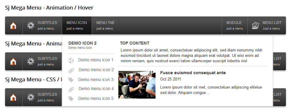 SJ Mega Menu - Drag & Drop | Mobile Optimized Joomla Module - icon-menu.jpg