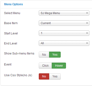 SJ Mega Menu - Drag & Drop | Mobile Optimized Joomla Module - menu-option.png
