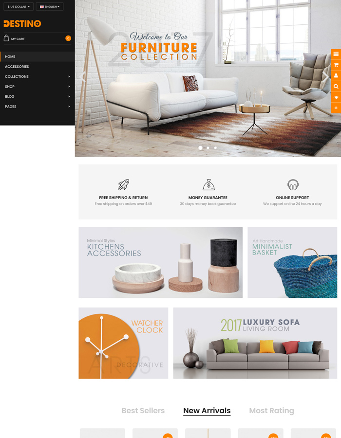 Premium OpenCart Themes for Supermarket, Grocery Stores 2021