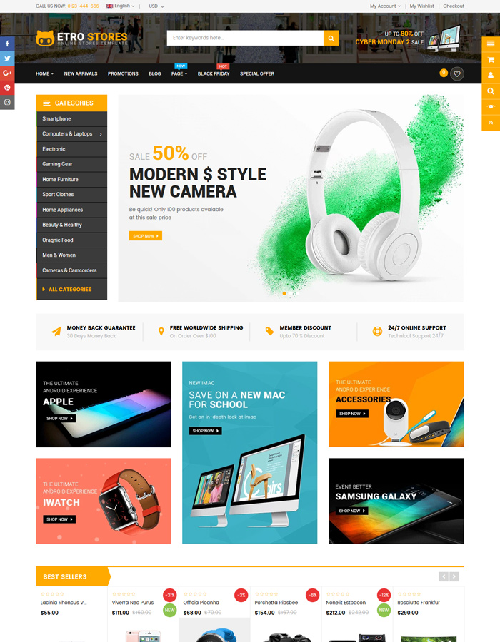 Top Games, Gaming Shopify Themes 2020