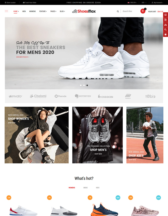 Best Shopify Themes for Your Shoes & Footwear Store Business