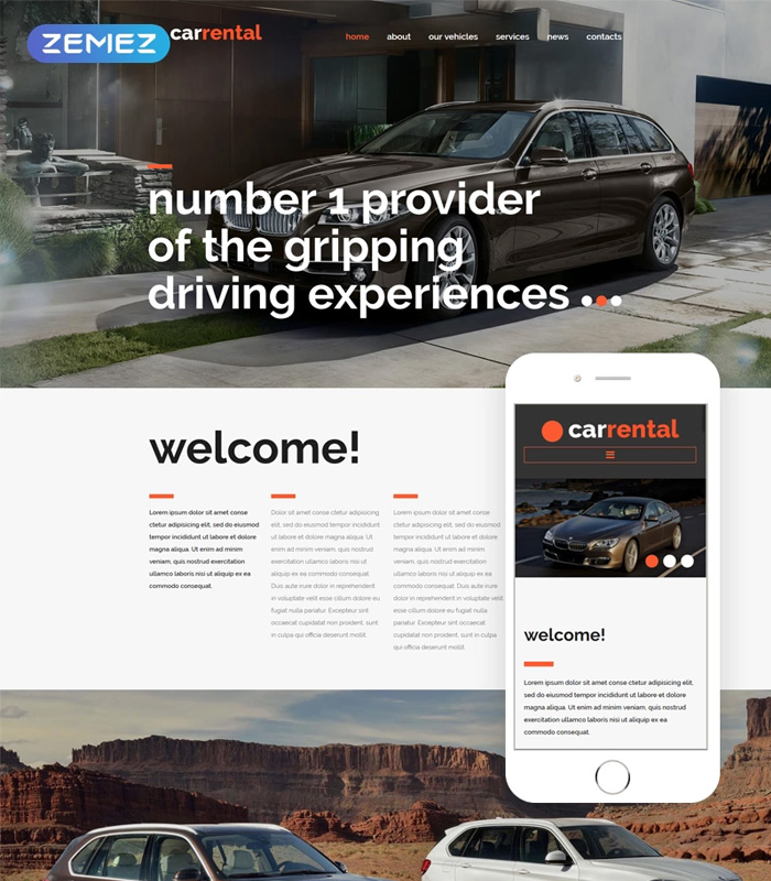 8 Awesome Joomla Templates For Auto Parts Car Shop Or Auto Service