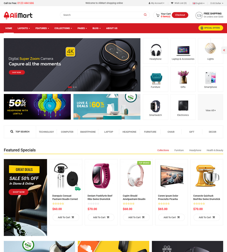 Best Accessories OpenCart Themes and Templates in 2021