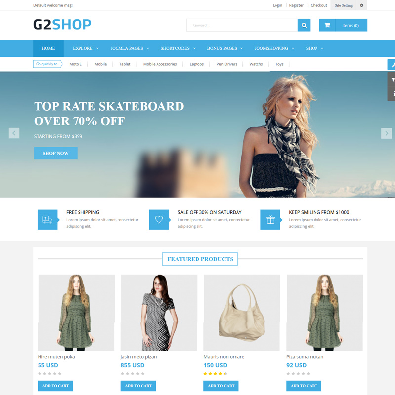 Best Fashion Joomla Templates for Building Fashion Stores in 2020