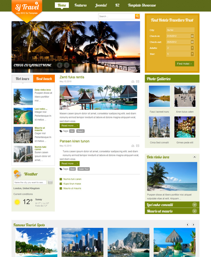 Top 7 Travel Joomla Templates for Travel Websites in 2020
