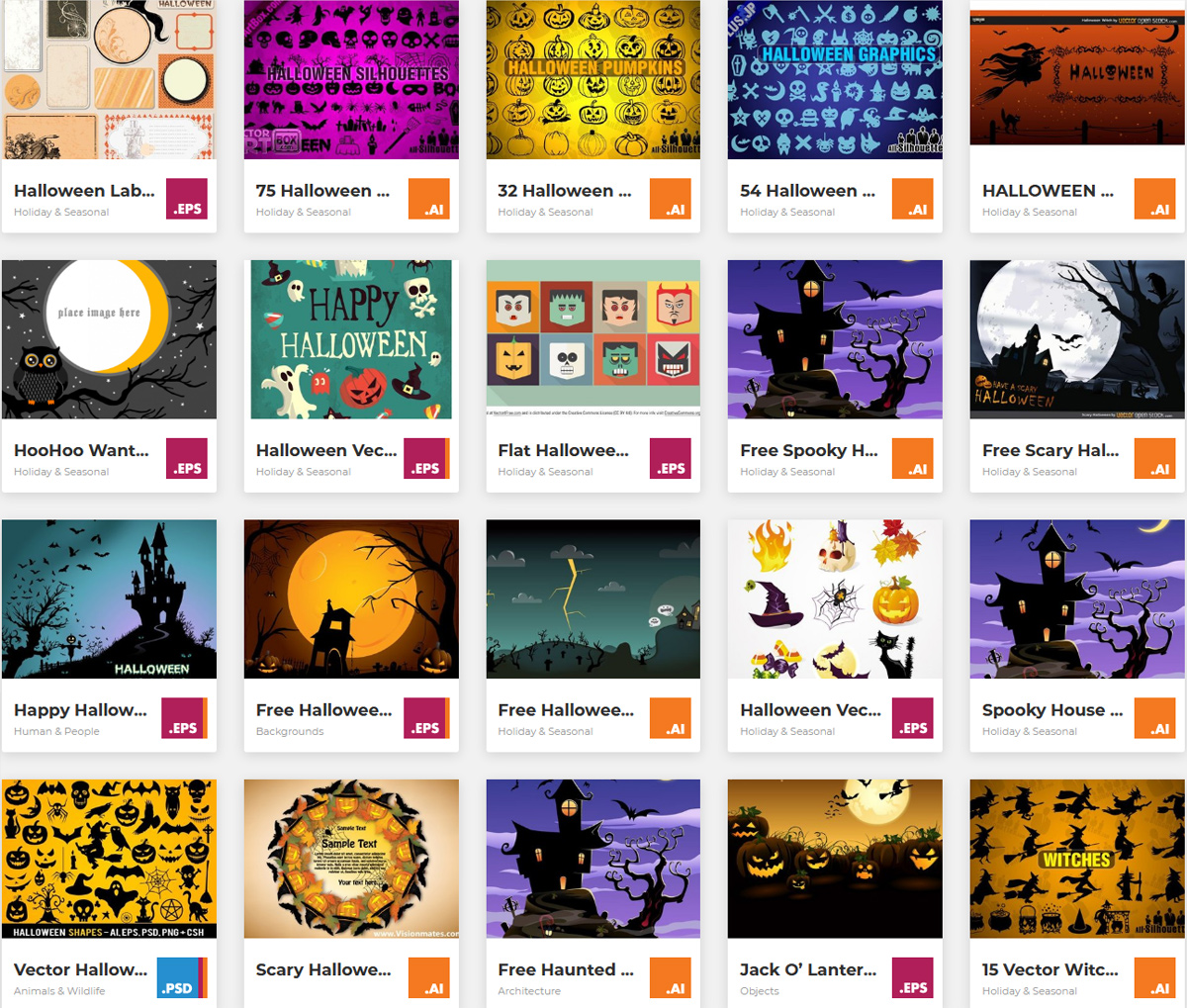 [Freebies] Free Halloween PSD Files, Graphics, Vectors & Images