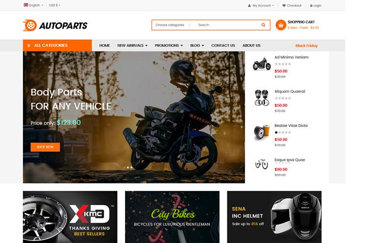 Best Free & Premium eCommerce Joomla Templates 2020