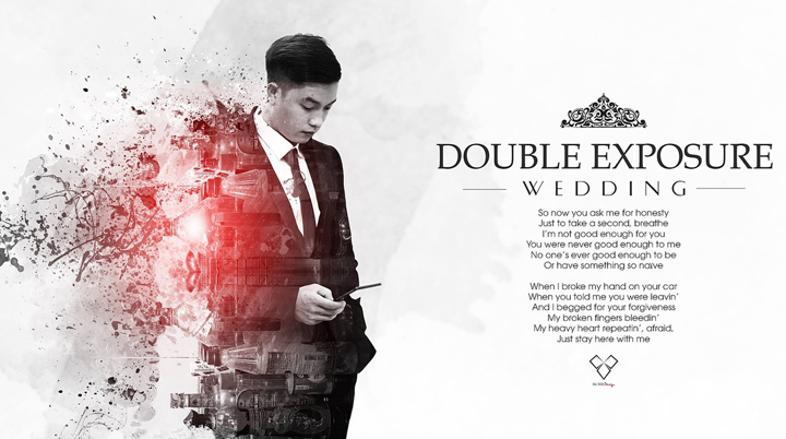 FREEBIES: 6 Elegant Double Exposure PSD, Stocks & Brushes