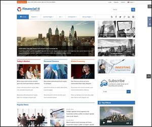 Sj Financial II - Responsive Financial Joomla Template