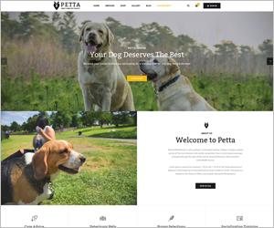 Responsive Joomla Pet Care Service Template - SJ Petta