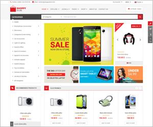 Responsive Joomla eCommerce Template VirtueMart 3 - SJ ShoppyStore