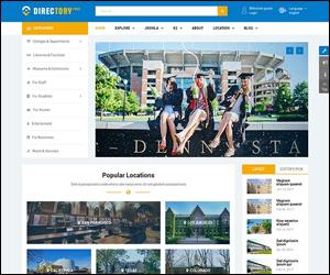 Free Responsive Magazine, Directory Joomla Template - SJ Directory Free