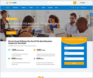 Hot joomla 37 templates upgraded list continuous updating elegant directory joomla template sj directory maxwellsz