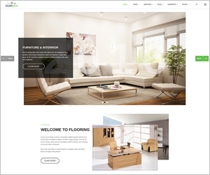 Responsive Joomla Interior Template - SJ Flooring
