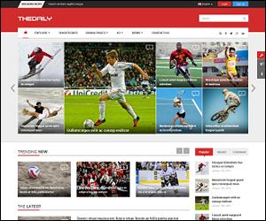 Responsive Joomla News Magazine Portal Template - SJ TheDaily