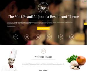 SJ Zaga - The Most Beautiful Joomla Restaurant Theme