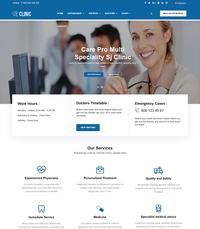 Top Medical & Healthcare Joomla Templates in 2020