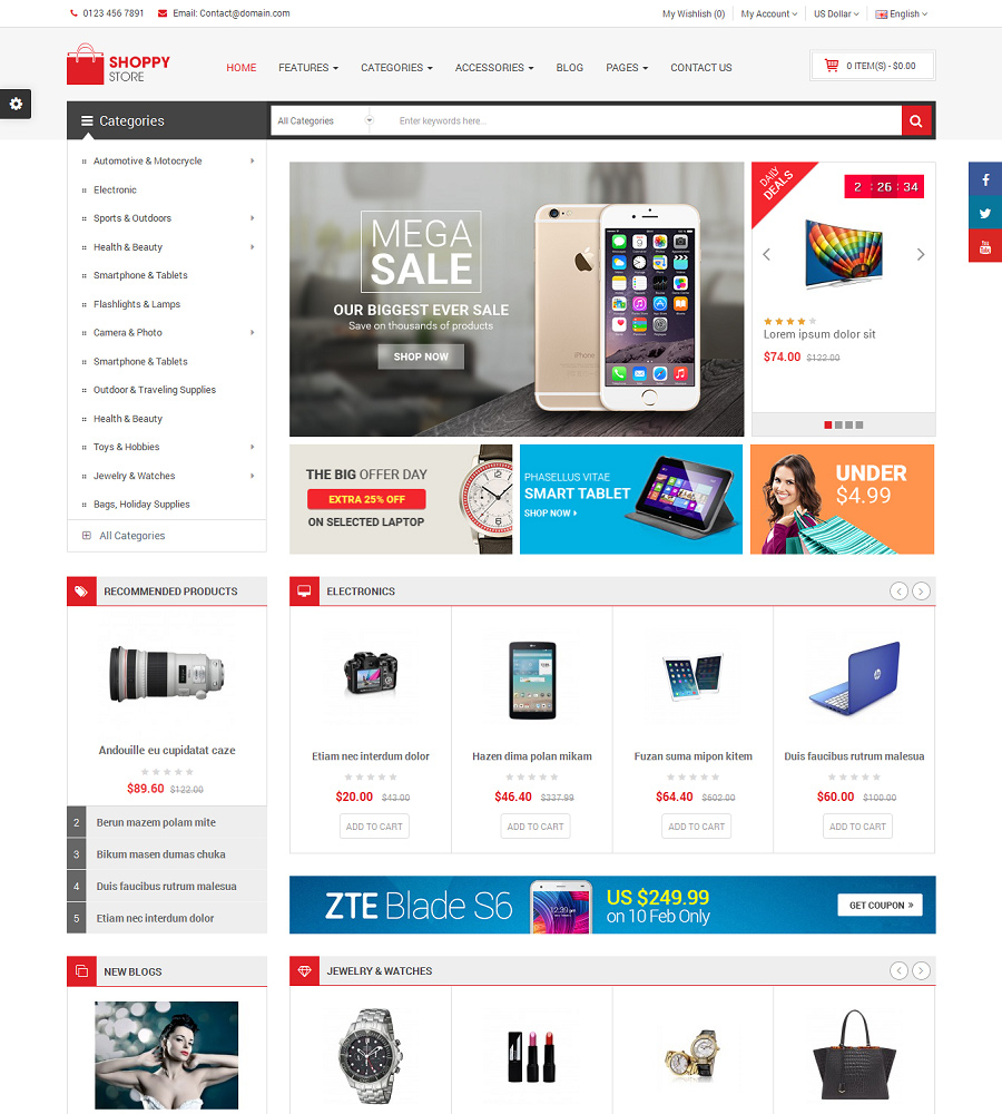 Top 10 Best Multi Vendor Marketplace OpenCart Themes for 2021