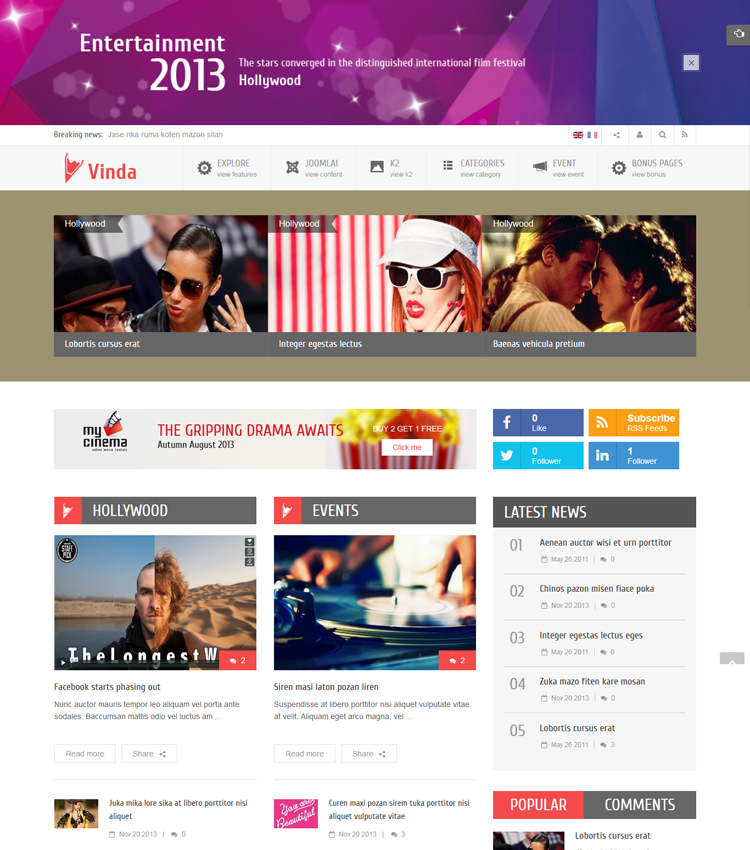 Best Medical & Healthcare Joomla Templates in 2019