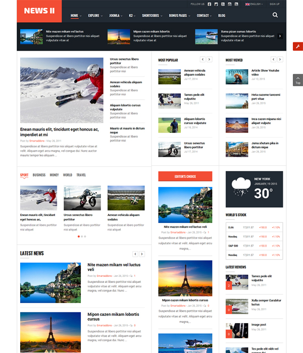 top 10 awesome free premium news magazine joomla 3 7 templates 2017