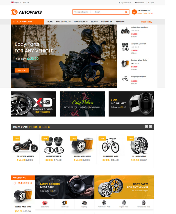 Best Free & Premium VirtueMart Templates in 2019