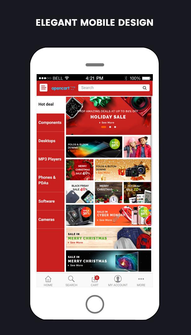 so mobile - Opencart 3 Theme