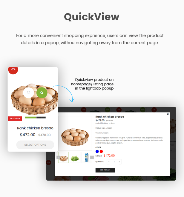 EcoGreen - Multipurpose Organic, Fruit, Vegetables Shopify Responsive Theme