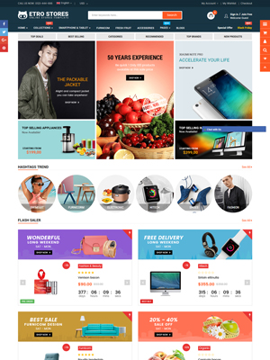 EtroStore - Best Selling Shopify Theme