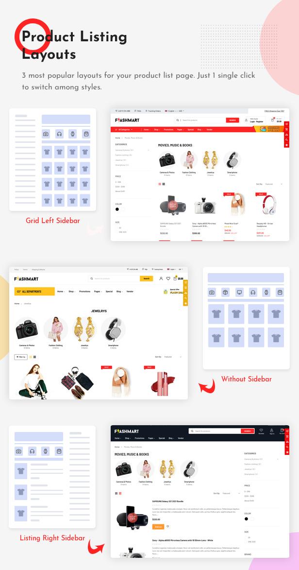 FlashMart - Responsive Multipurpose Section Shopify Theme