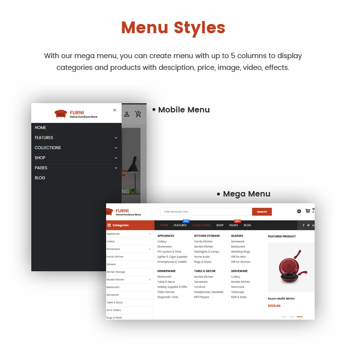 Furni - Premium Drag & Drop Furniture Shopify Theme
