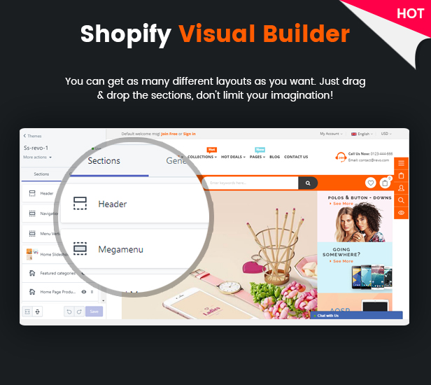 Revo - Ultimate Responsive Multipurpose Shopify Theme