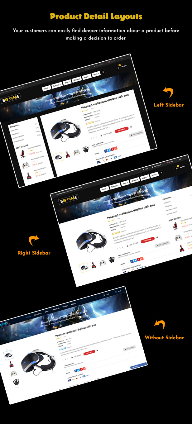 Responsive Games Shopify Theme