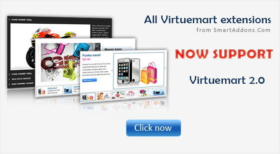 All Virtuemart extensions now support Virtuemart 2.0